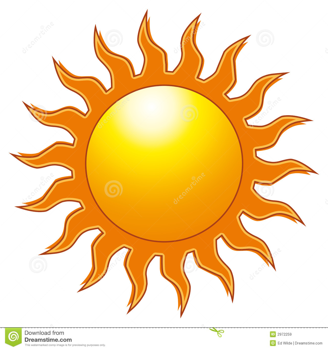 Go Outside In The Sun Clipart.
