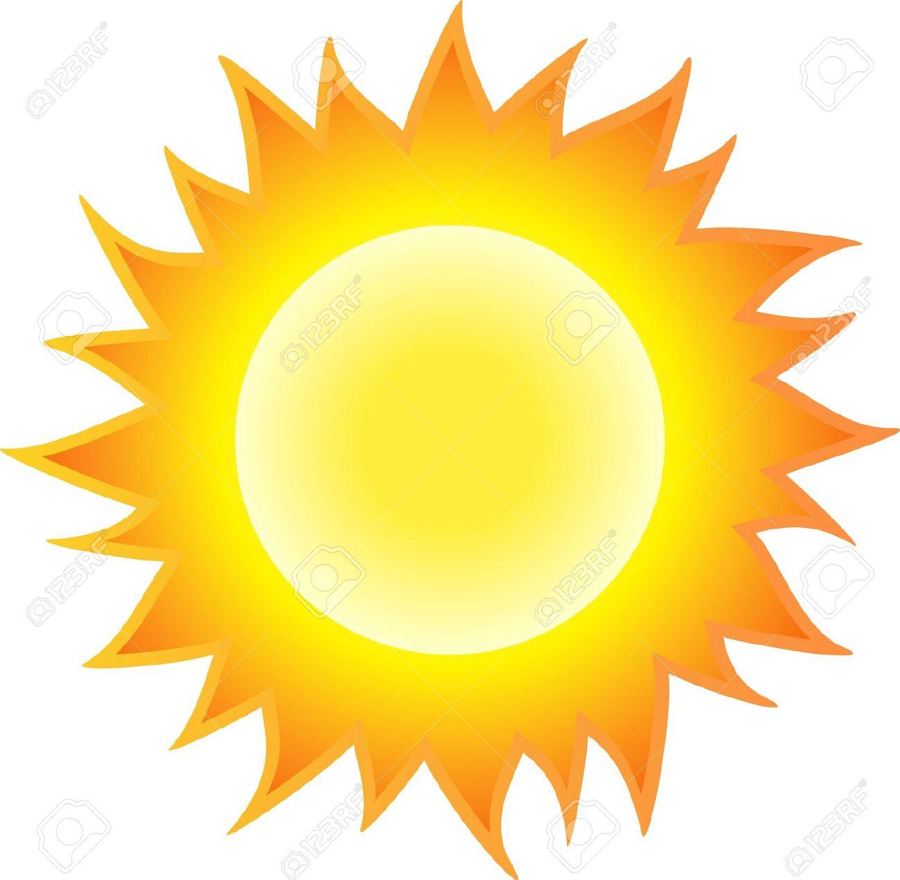 The sun clipart.