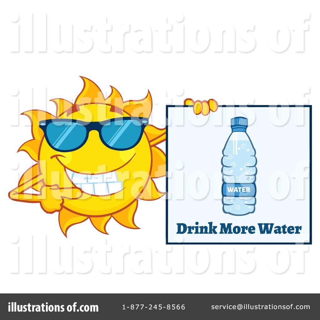 Sun Character Clipart #1408196.
