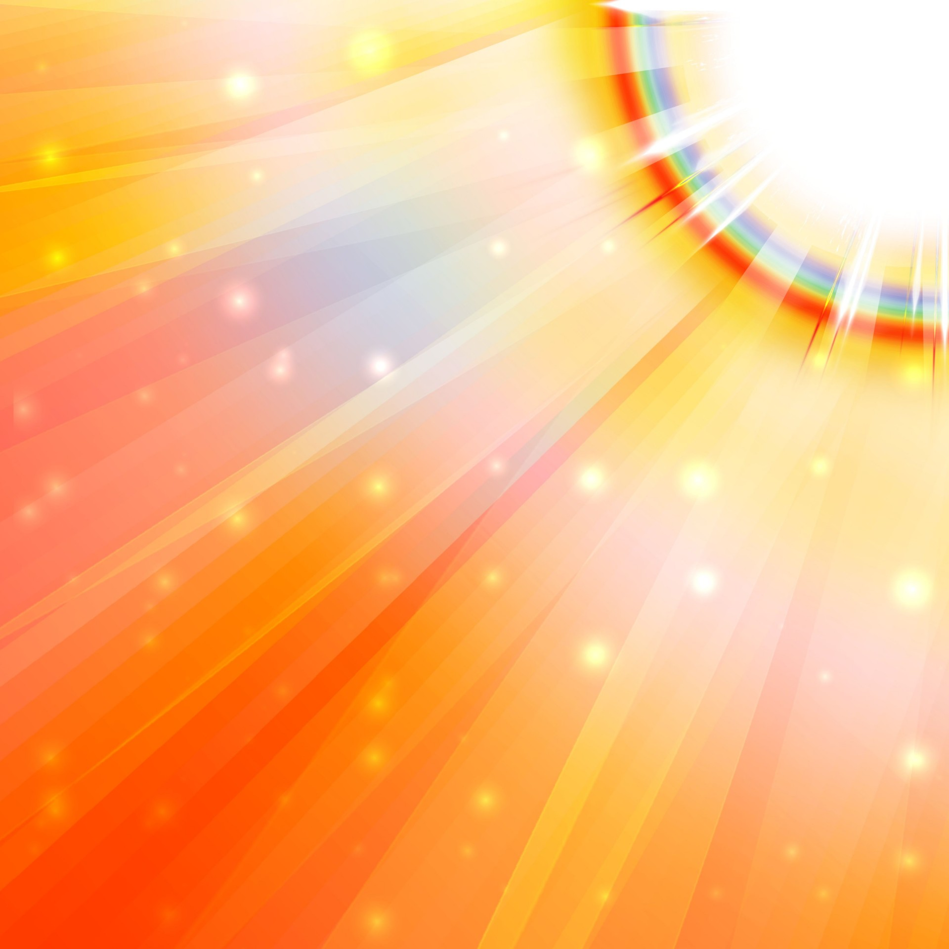 Clip Art Sun Rays 3 Free Stock Photo.