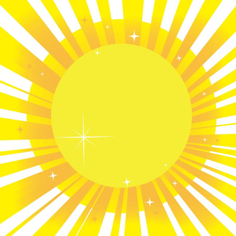 Sun Ray Clipart.