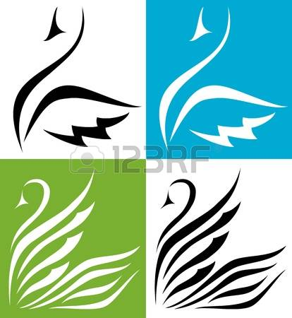 5,155 Swan Stock Vector Illustration And Royalty Free Swan Clipart.