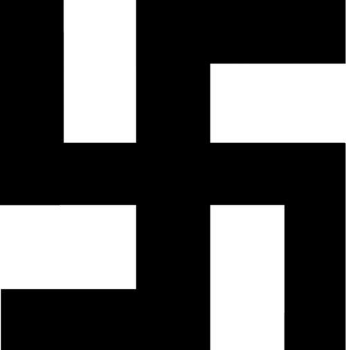 Photoshop the swastika..