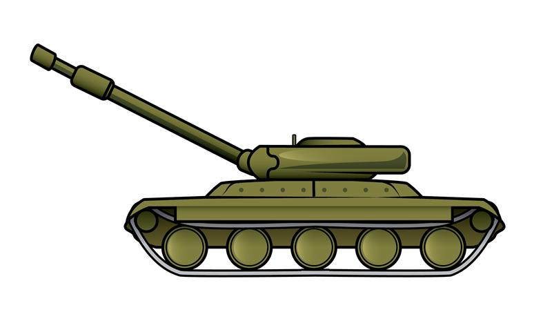 War tank clipart.