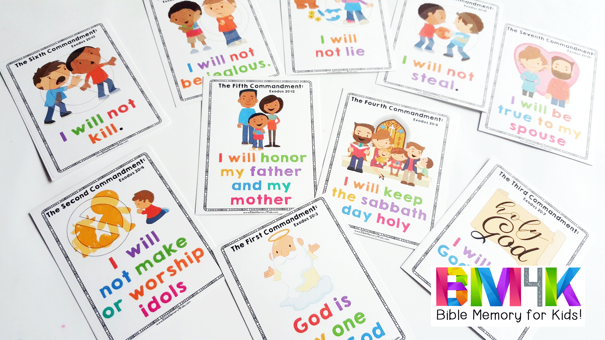 Ten commandments clipart preschooler craft, Ten commandments.