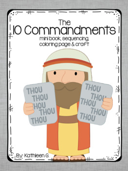 Ten commandments clipart kindergarten, Ten commandments.