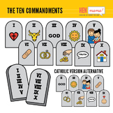 Ten Commandments Clipart Worksheets & Teaching Resources.