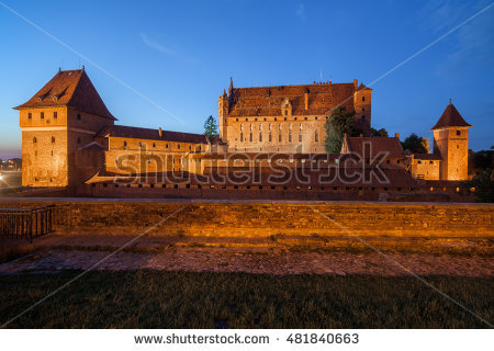 Castle Of The Teutonic Knights Stock Photos, Royalty.
