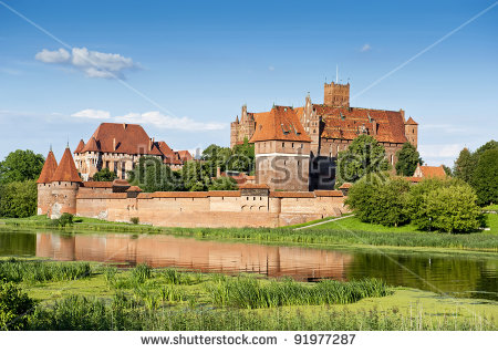 Malbork Castle Stock Photos, Royalty.