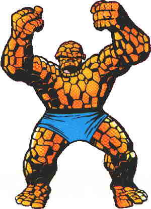 Ben Grimm, aka The Thing..