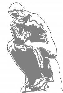 The Thinker Large Clip Art Download.