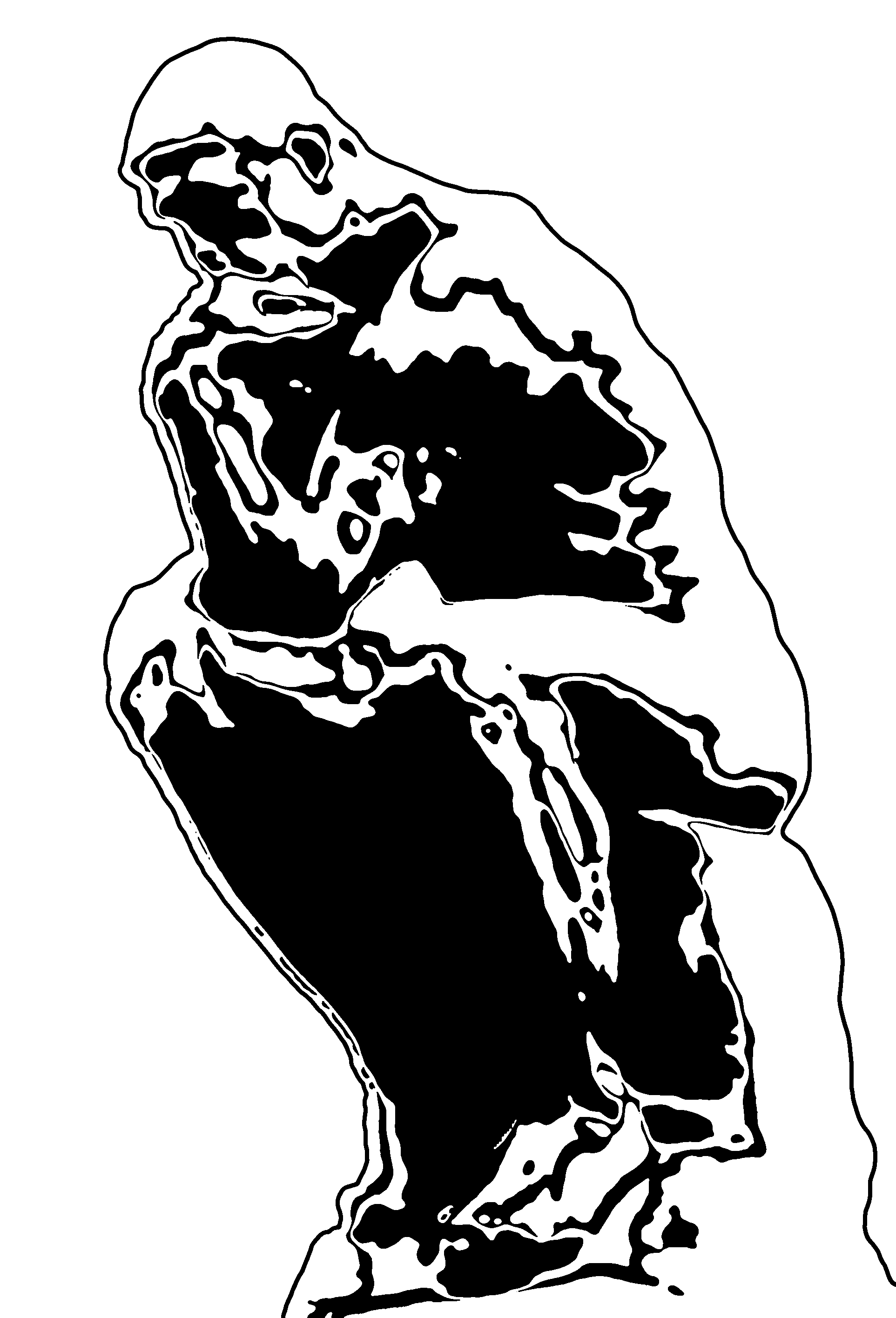Thinker Clip Art.
