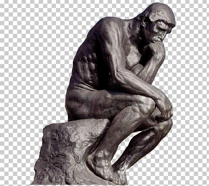 The Thinker Bronze Sculpture Statue PNG, Clipart, Art.