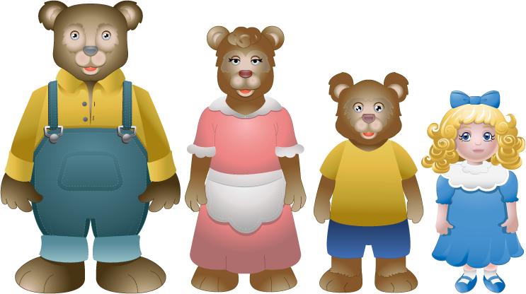 Free Three Bears, Download Free Clip Art, Free Clip Art on.