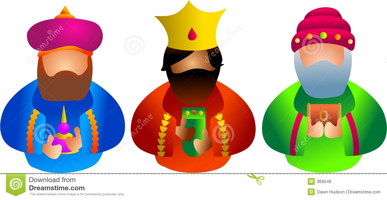 Three Kings Royalty Free Stock Images.