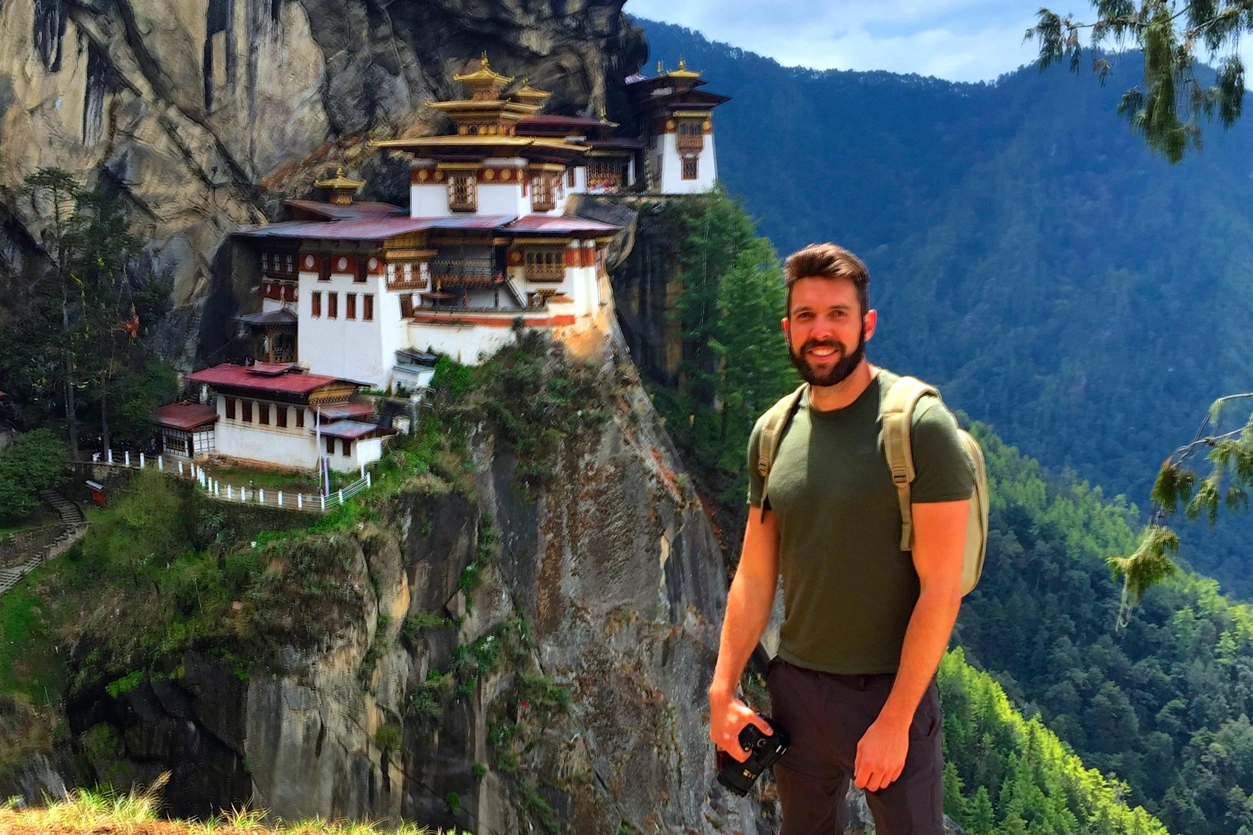 A Trek into the Tiger's Nest of Bhutan.