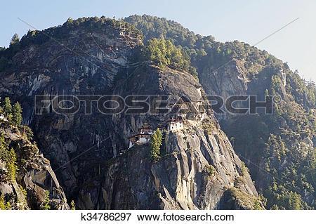 Picture of Tiger's Nest, Paro, Bhutan k34786297.
