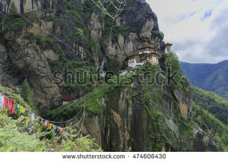 Tigers Nest Temple Tigers Nest Monasteryone Stock Photo 275446316.
