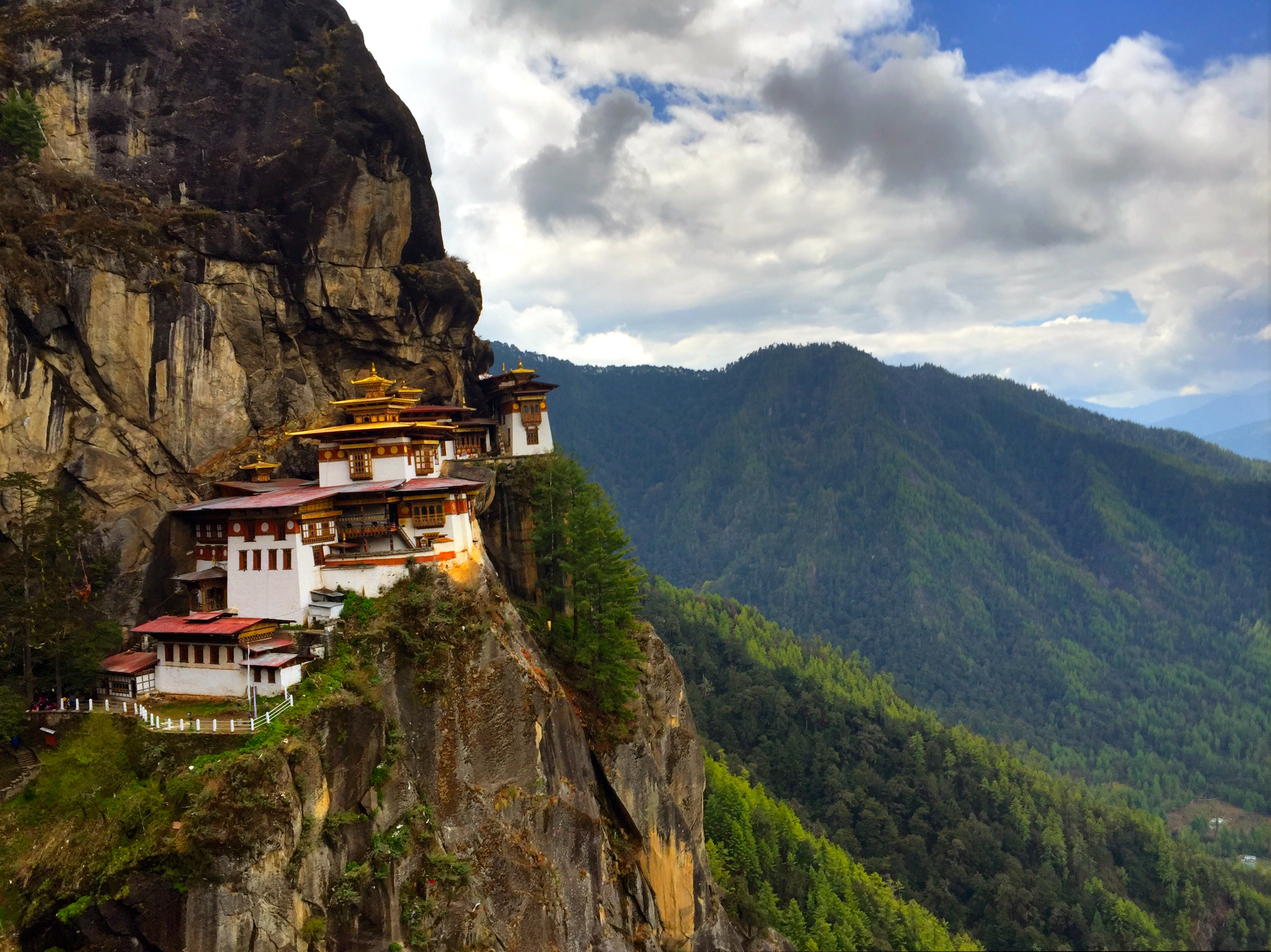 A Trek into the Tiger's Nest of Bhutan.