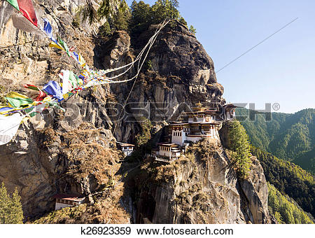 Stock Photograph of Tiger Nest k26923359.