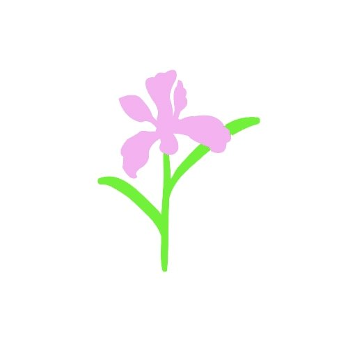 Small flowers clip art.