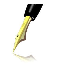 Ink Pen Tip clip art.