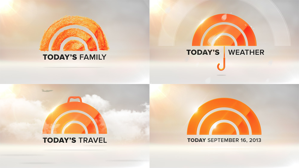 Brand New: New Logo and Animation for Today Show by.
