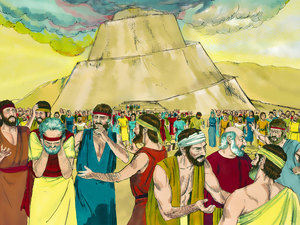 WHAT DID YOU SAY? A Bible story about the Tower of Babel by.