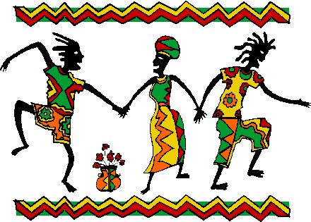African oral tradition clipart.