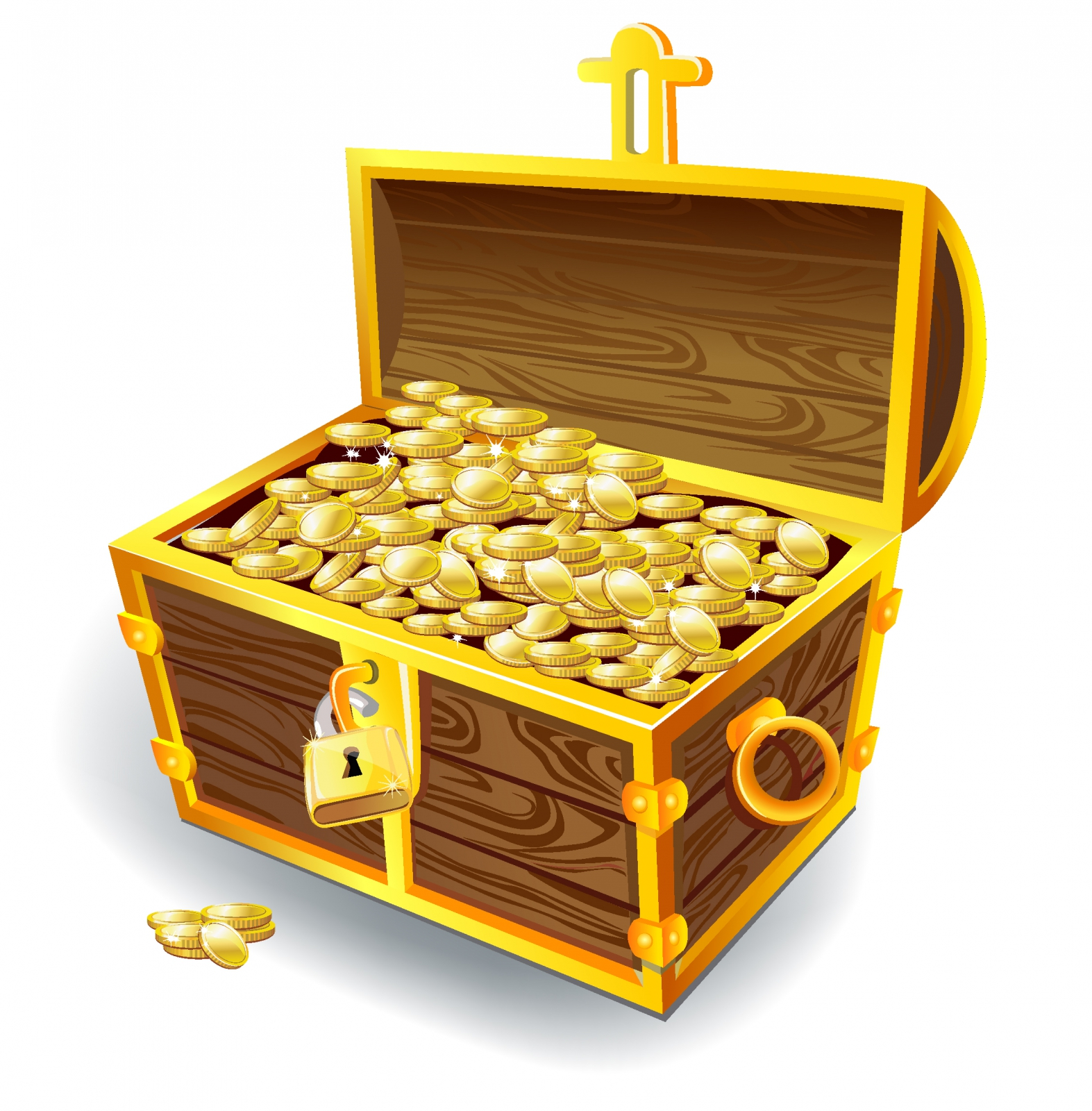 Treasure Chest Clipart (4091) Free Clipart Images — Clipartwork.