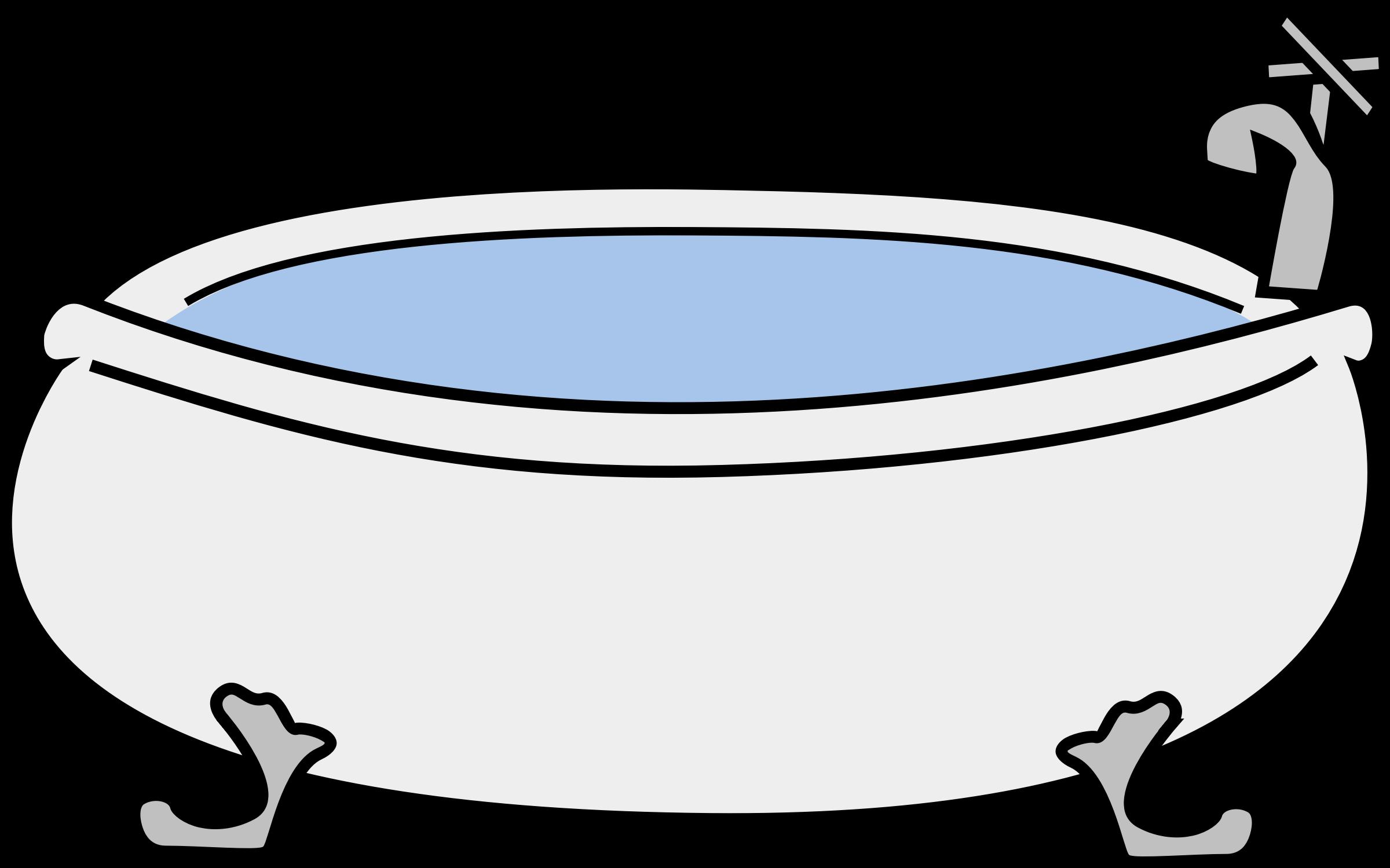 Tub Clipart.