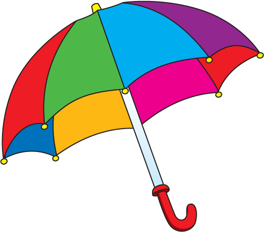 Umbrella clipart #12