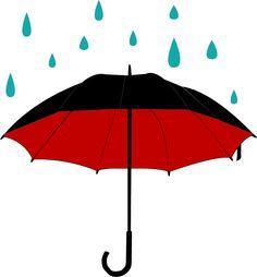 Clipart umbrella rain.