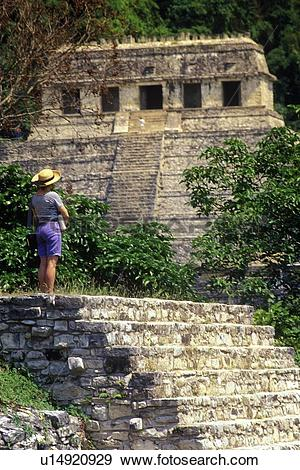 Stock Photograph of Palenque.