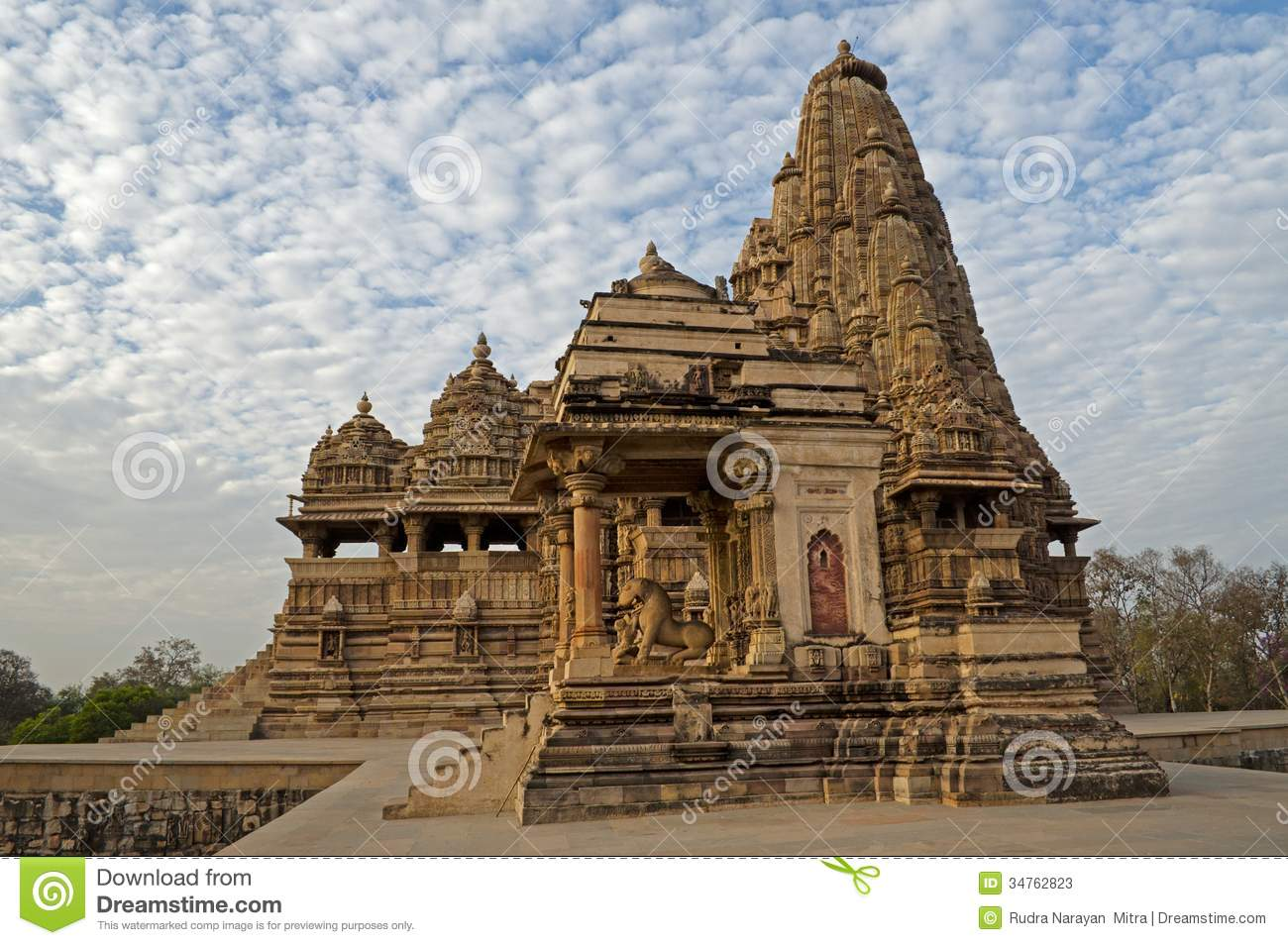 Kandariya Mahadeva Temple, Dedicated To Shiva, Western Temples Of.