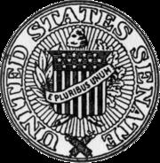 Seal of the United States Senate.