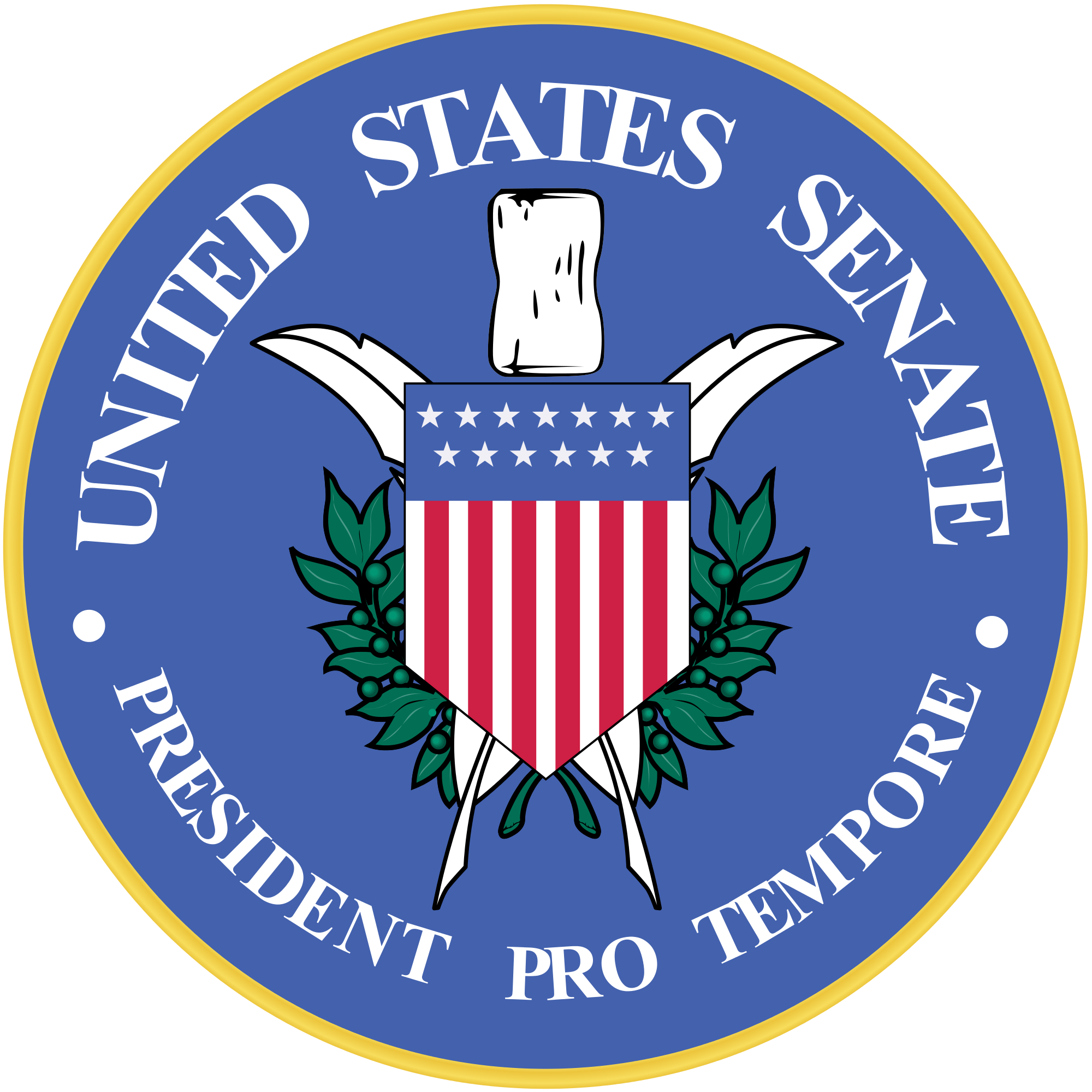 File:Seal of the President Pro Tempore of the United States Senate.