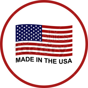 made in the usa clipart.