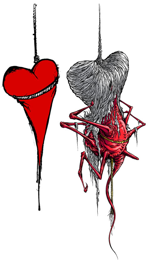 Alex Pardee: Search results for the used on We Heart It.