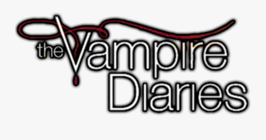 The Vampire Diaries Logo Lineart.