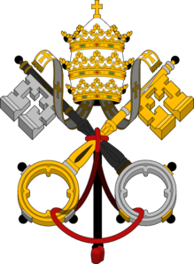 Holy See Vatican Arms Clip Art at Clker.com.