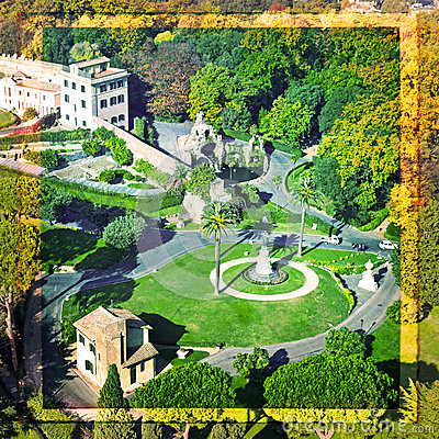 View Vatican Gardens Stock Illustrations.