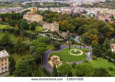 Vatican Gardens Banco de imágenes. Fotos y vectores libres de.