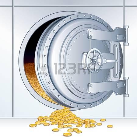5,052 Bank Vault Stock Vector Illustration And Royalty Free Bank.