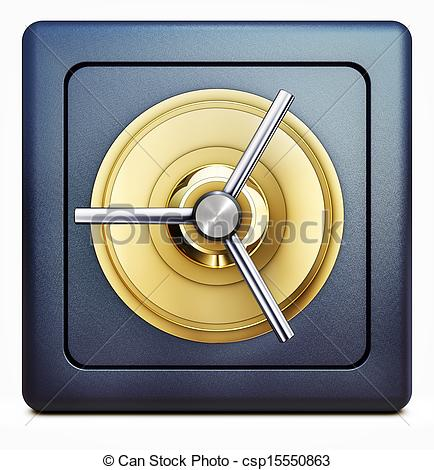 Bank vault clipart free.