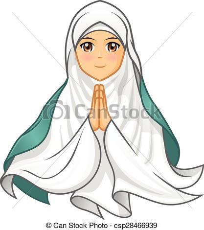 Muslim veil Vector Clip Art EPS Images. 395 Muslim veil clipart.