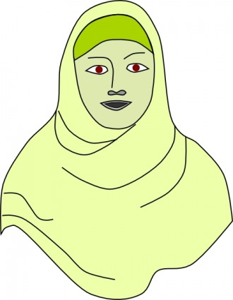 Hijab Clipart.