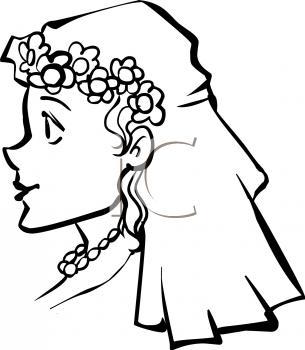 Clipart veil.