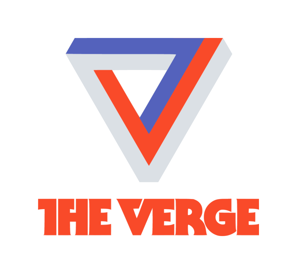 The Verge Logo and Website.