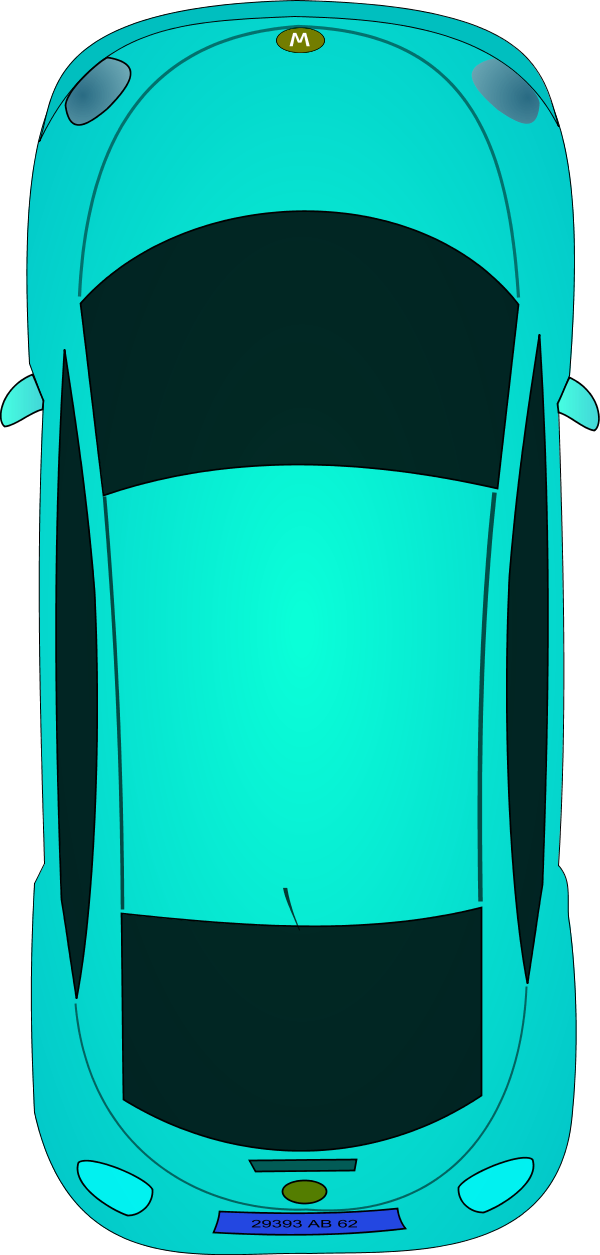 Car clipart back view transparent.